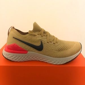 Nike Epic React Flyknit 2-Club Gold